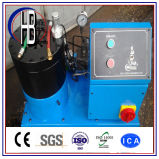 휴대용 유압 호스 주름을 잡는 기계