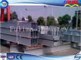 Vigas soldadas de H, columnas, vigas en la estructura de acero (FLM-HT-026)