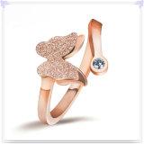 수정같은 반지 형식 보석 925 순은 보석 (CR0056)