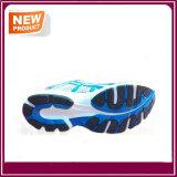 Ботинки спорта идущих ботинок людей с голубым цветом