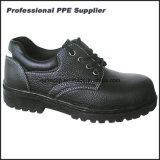 Дешевая обувь безопасности неподдельной кожи сделанная в Китае