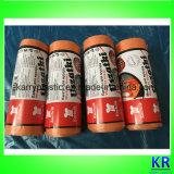 Les sacs de détritus d'Étoile-Seled de HDPE avec Attacher-Traitent