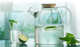 世帯のためのハンドメイドの台所用品のガラスティーポットのガラス瓶