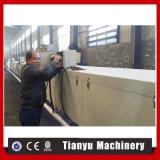 熱いカラー石の上塗を施してある金属の屋根瓦機械