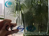 세륨, ISO (3-8mm)를 가진 명확한 대나무 장식무늬가 든 유리 제품