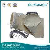Высокотемпературный войлок фильтра цедильного мешка 100% PTFE фильтра PTFE