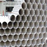 Tubo de PVC hidráulico de aço trançado de fibra