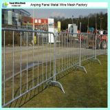 Galvanizado y Powder Coated Crowd Control Barrier para Sale