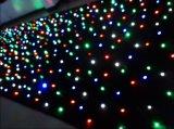 Rideau coloré en étoile de RGBW DEL