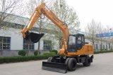 Hunter 12 Tonnen-Rad-Exkavator-hydraulischer Exkavator