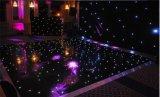 2015結婚式の装飾のための黒いLEDの光るStarlitダンス・フロア