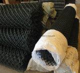 /Сетка диаманта покрынные PVC загородка звена цепи используемая для сада