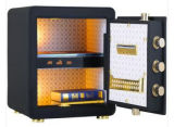New Black Fingerprint Steel Safe para escritório Home Use