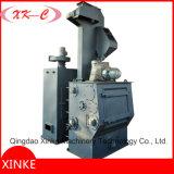 Machine de sablage de type Tumble Type avec ceinture en caoutchouc pour attaches et hardwares