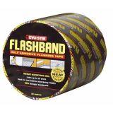 Couvrir la bande de clignotement de imperméabilisation asphaltique renforcée/bande de film en aluminium