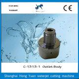 Waterjetポンプのための60k増強小切手弁のアウトレットのアダプター