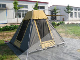 أسرة يجول خيمة
