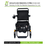 Lightweight di lusso Foldable Electric Wheelchair per Rehabilitation Therapy