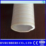 Mangueira leve da sução do PVC transparente