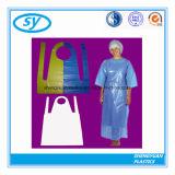 Avental de cozimento plástico do PE para adultos