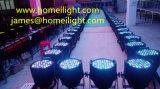 Maak 54 X3w het Licht van het PARI van de Lamp DMX 512 van het PARI van de Hoge Macht voor Stadium, Partij, Disco waterdicht