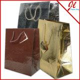 ショッピングのためのエキゾチックな繊維状の金属ヨーロッパの戦闘状況表示板の紙袋