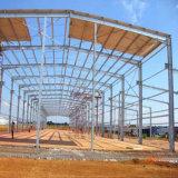 Prefab светлая мастерская стальной структуры строя к Анголе