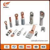Tipos que prensan terminales terminales del cobre de despegue del cable