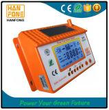 PWM 60A LCDの太陽電池の調整装置の料金の排出のコントローラ12V/24V