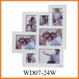 Картинная рамка коллажа деревянная (WD07-24W)