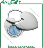 De Sleutelring van het metaal met Aangepaste Grootte en Embleem 44