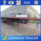 Niedriges Price 3 Axle 40feet Flatbed Container Container Semi Trailer
