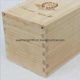 포장을%s 나무로 되는 포도주 상자