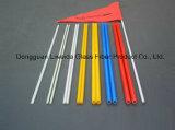 Depresión Roces del tubo de FRP/de la fibra de vidrio de poste con buena Corrosión-Resistencia