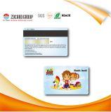 Carte magnétique d'identification de métro de PVC de production de qualité