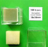 Couvercle transparent et transparent transparent 24mmx50mm