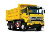 Het DrijfType van Merk van Sinotruk 6X4 voor de Vrachtwagen van de Stortplaats 25tons