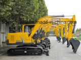 Da máquina escavadora pequena da esteira rolante de Baoding 8ton máquina escavadora hidráulica
