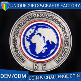ロゴは柔らかいエナメルのクラフトの金属の硬貨をカスタマイズする