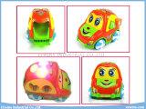 Brinquedos educacionais do carro elétrico com os brinquedos dos blocos da música e da instrução