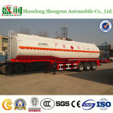 petroleiro de óleo do aço de carbono do metanol de 45cbm 3axle Shengrun