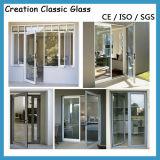 アルミニウムシャワーガラスのための二重建物ガラス