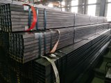 Tubo de acero 25 *25* de la casilla negra 1.5 milímetros * 6 M Ss 400 califican 500 En10219
