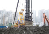 Concrete Piles를 위한 본래 CAT Base TH-60 Hydraulic Piling Rig