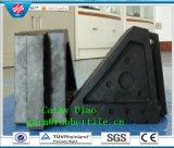 Qingdao-Fabrik-Zubehör-Gummiauto-Keil-Gummirad-Keil-Gummiauto-Rad-Stopper