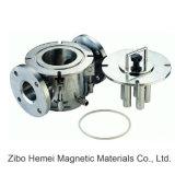 Rcyj séparateur magnétique permanent de canalisation liquide de 300/200 série pour pharmaceutique, chimique, fabrication du papier, réfractaire