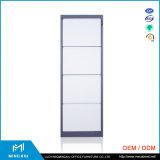 中国Mingxiuの金属4の引出しのファイルキャビネット/鋼鉄引出しの側面ファイルキャビネット