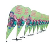 Bandiere di volo di Globalsign/bandierine di spiaggia di vendita calde