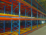 Heavy Duty Push Back Pallet da cremalheira para Armazenamento Warehouse