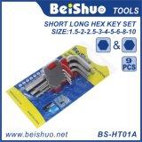 Precio barato - conjunto estándar de la llave inglesa del clave Hex del final del plano doble